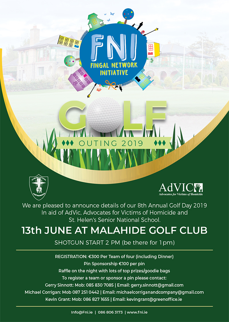 8th Annual Golf Day in aid of AdVic